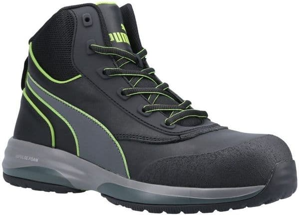 Puma Safety Rapid Mid Boots Safety Green